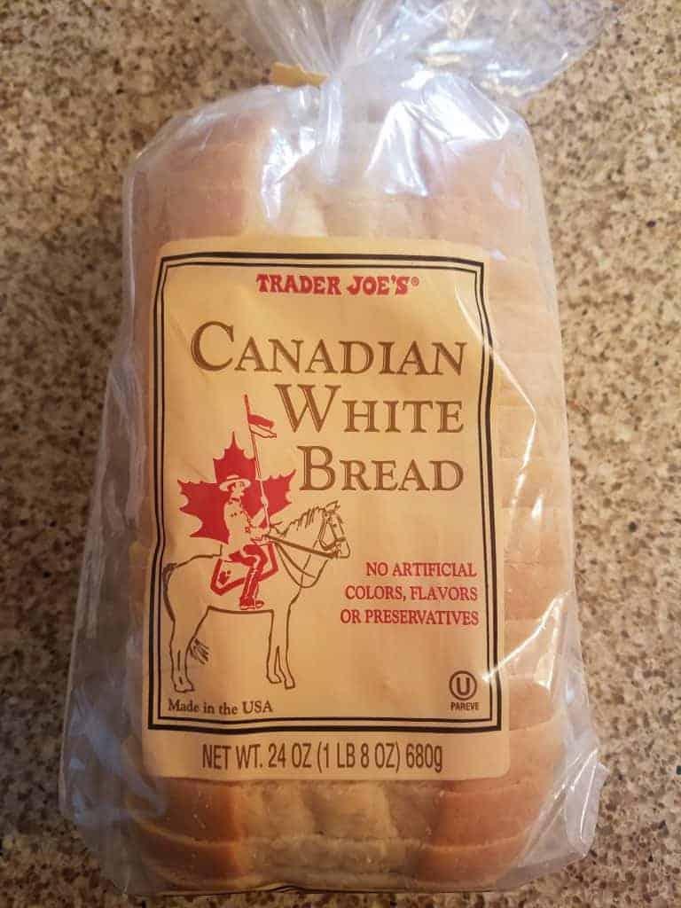 Trader Joe's Canadian White Bread
