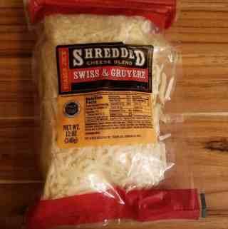 Trader Joe's Shredded Swiss and Gruyere Cheese Blend