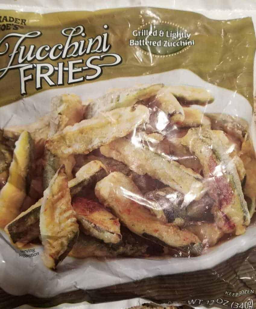Trader Joe's Zucchini Fries