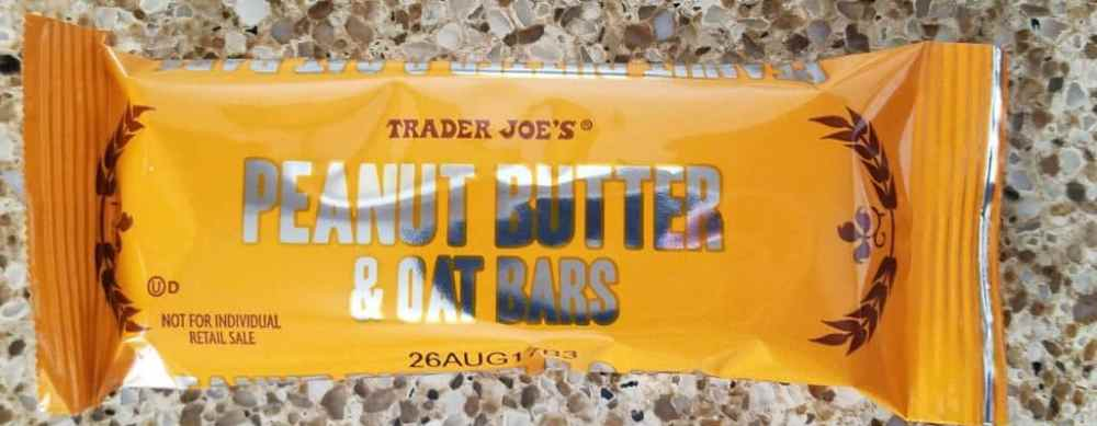Trader Joe's Peanut Butter and Oat Bars