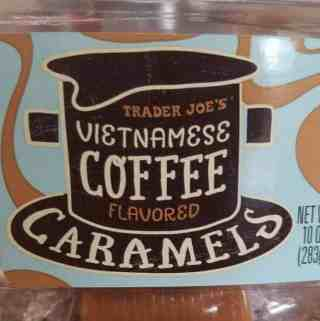 Trader Joe's Vietnamese Coffee Flavored Caramels