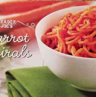 Trader Joe's Carrot Spirals