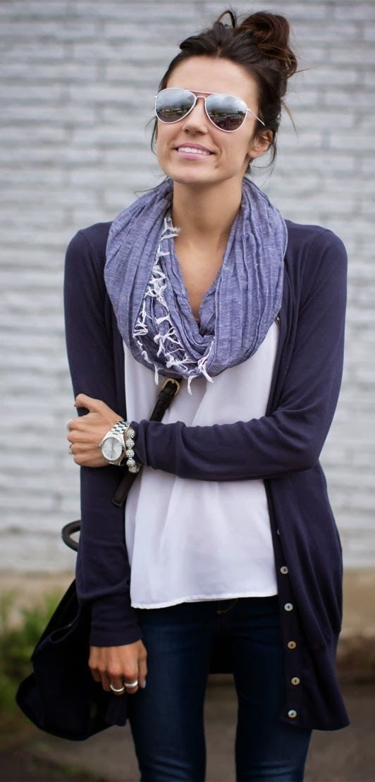 Quick Fall Fashion Upgrade 16 Cute Scarves 2019  Become Chic