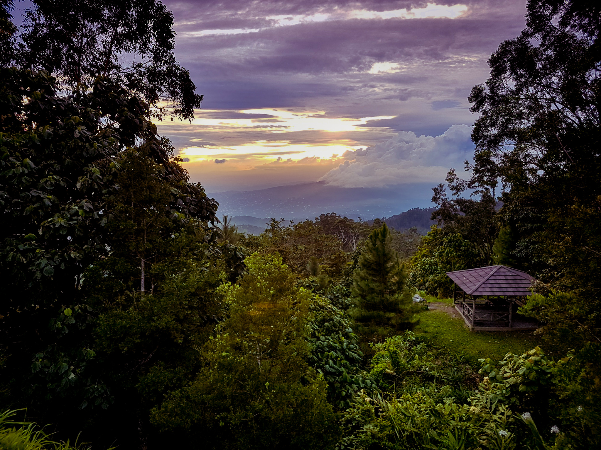 Blue Mountains Jamaica sunsets