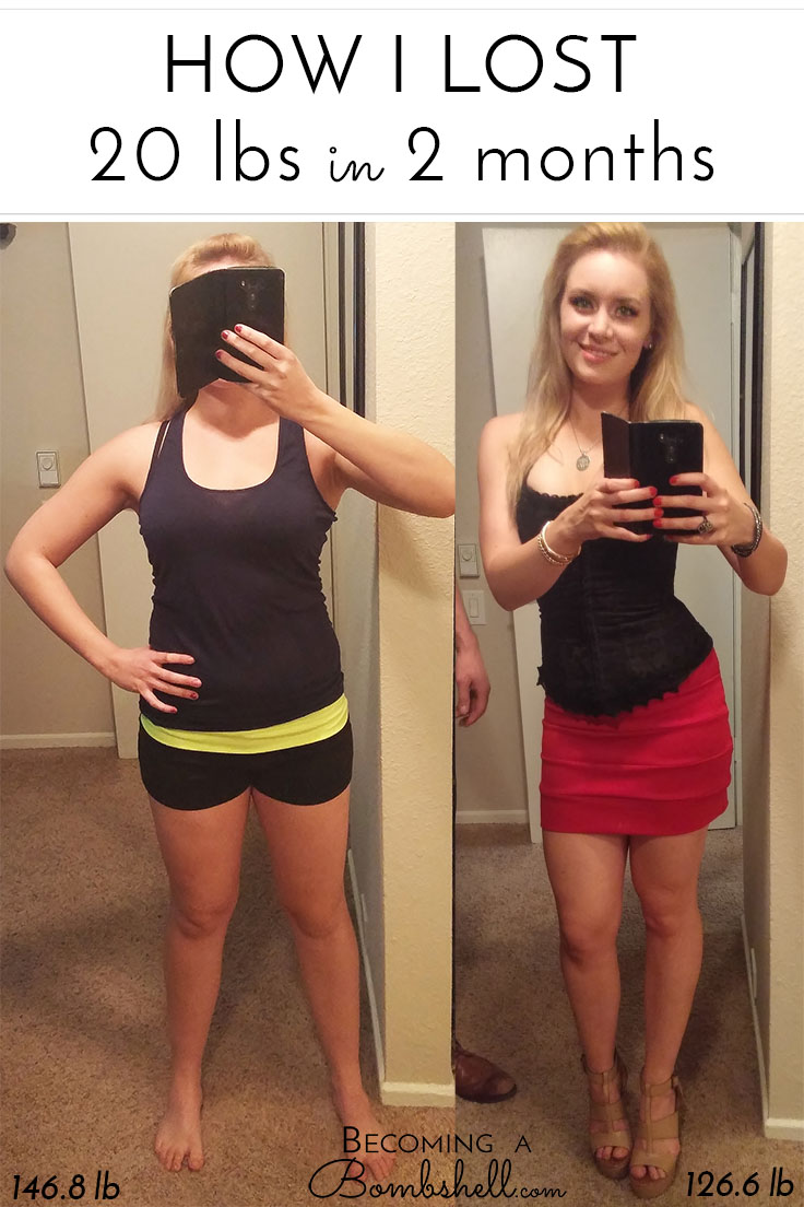 How To Lose 20lb In 2 Months