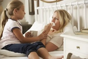 Many children take on the role of caregiver when parents become sick even when they are very young themselves.