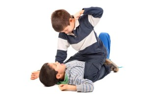 Children who have Conduct Disorders frequently get into fights.