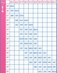 Always make sure you try on bras this chart is only an indication as can differ from brand to also find your bra size becoming  girl rh becomingagirl weebly