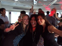 Office holiday boat party