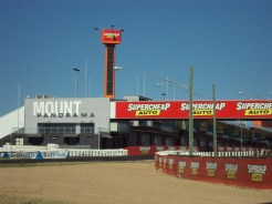 Drove around Mount Panorama with my future in-laws