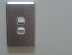 Getting myself used to these sort of light switches