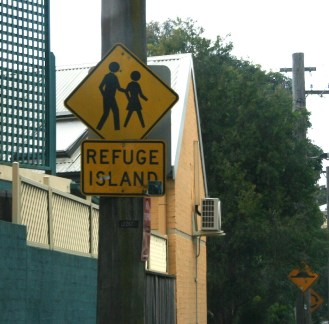 "What is ""Refuge Island?"" It sounds safe, but how do we get there?"