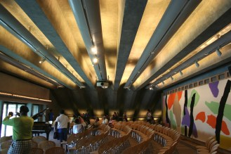 The Utzon Room, designed by architect Jørn Utzon, the original architect for Sydney Opera House.