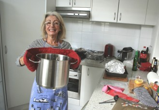 My mother-in-law survives her first Thanksgiving
