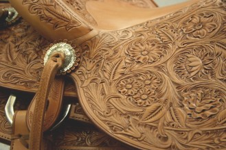 Beautiful leather works