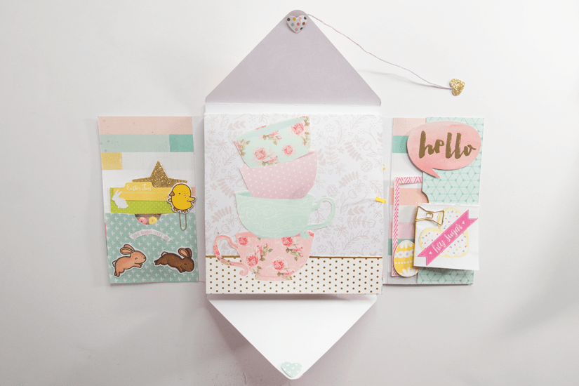 spring themed loaded envelope
