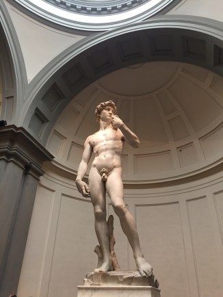 David by Michelangelo at the Accademia