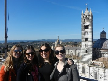 Me and my lovely girls up the Facciatone!