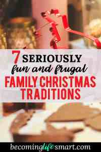 These ideas are so fun! I can't wait to add some of them to my family's Christmas list.   Christmas traditions   Christmas with toddlers   Christmas with kids   Christmas traditions kids   Christmas traditions family   www.becominglifesmart.com