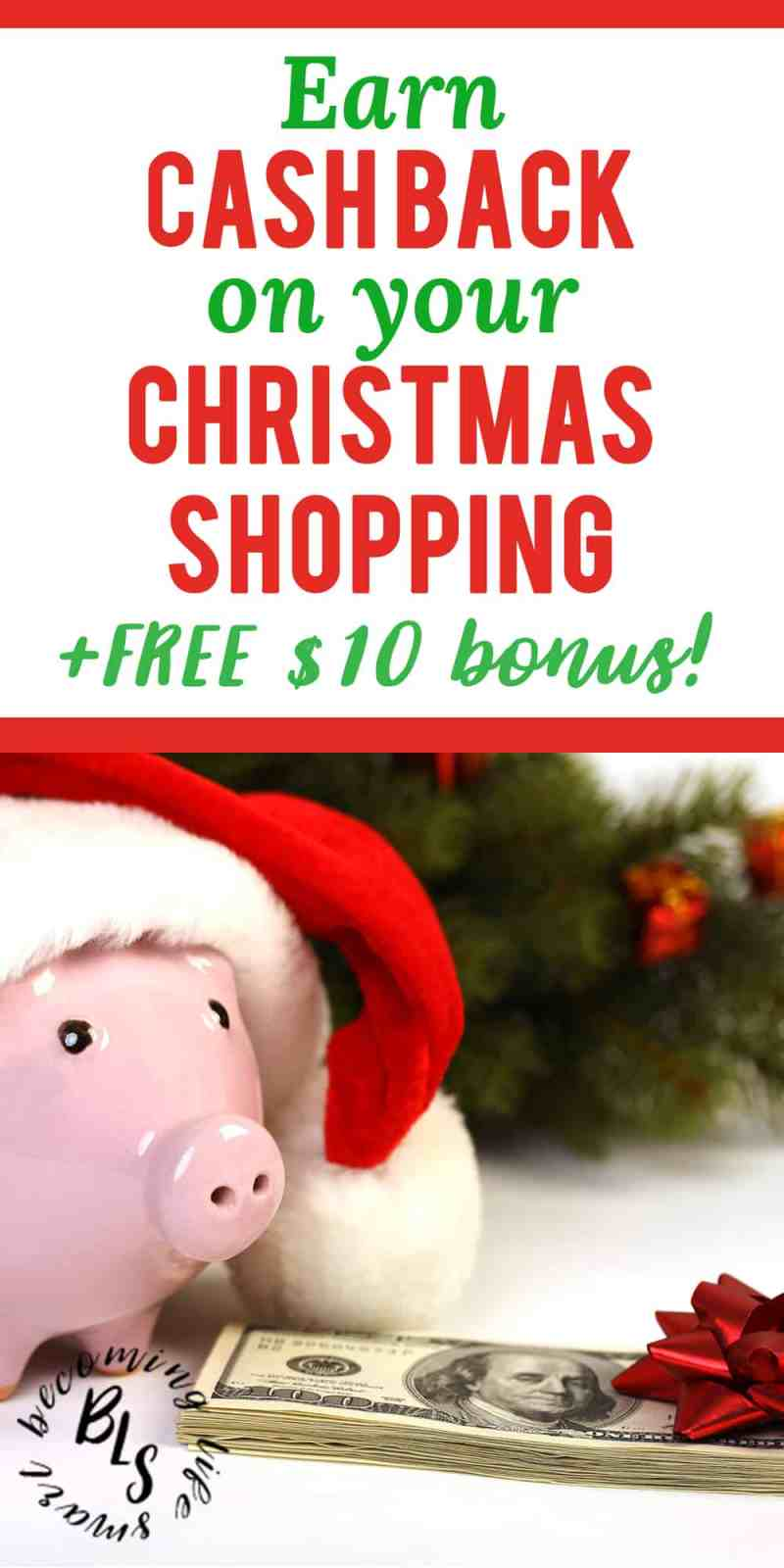 These are great Ebates shopping tips! I can't believe you can make money shopping online just for using Ebates. | Ebates tips saving money | save money Christmas shopping | save money Christmas tips | #christmasgifts #moneytips #christmas #shopping | www.becominglifesmart.com