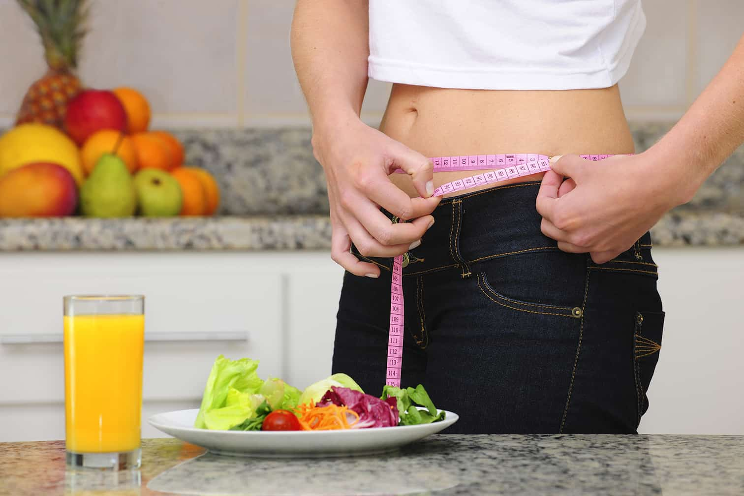 Stop eating to lose weight quickly