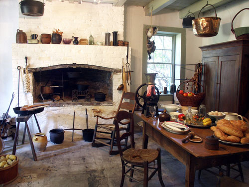 old world french country kitchen French Kitchens – The Inside Scoop | Becoming Madame
