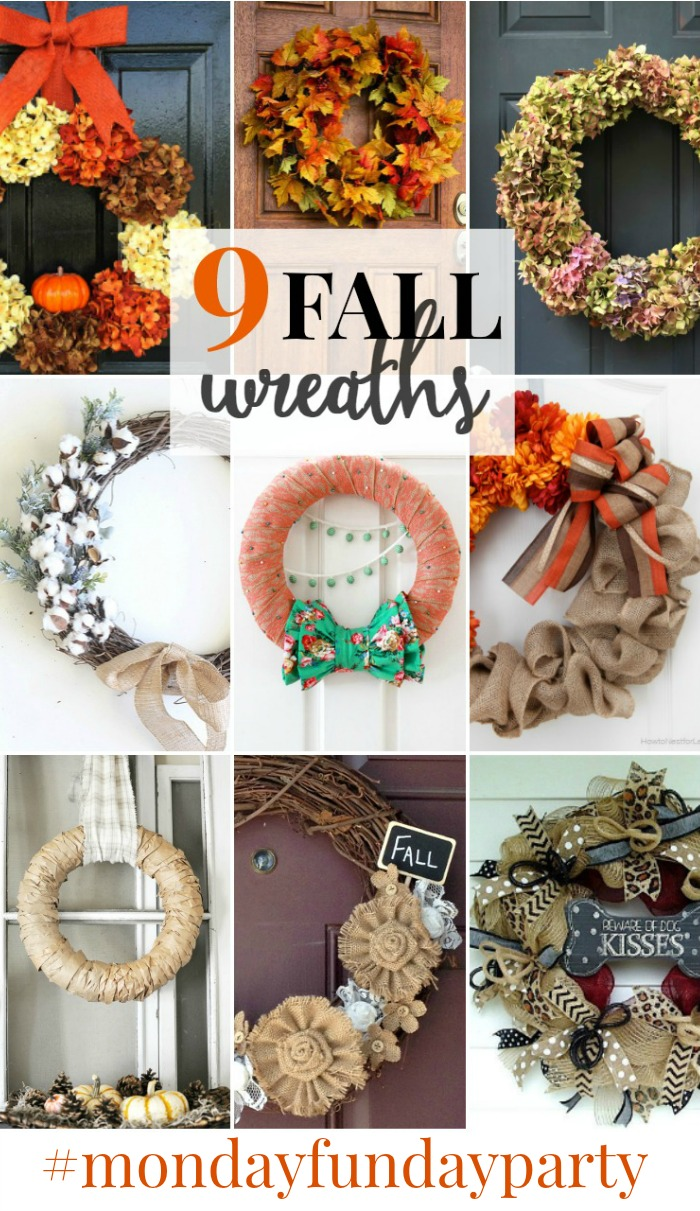 fall wreaths collage 2