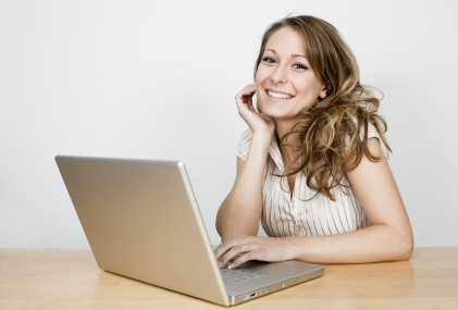 Image result for photo of a happy blogger