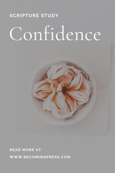 Scripture Study: Confidence