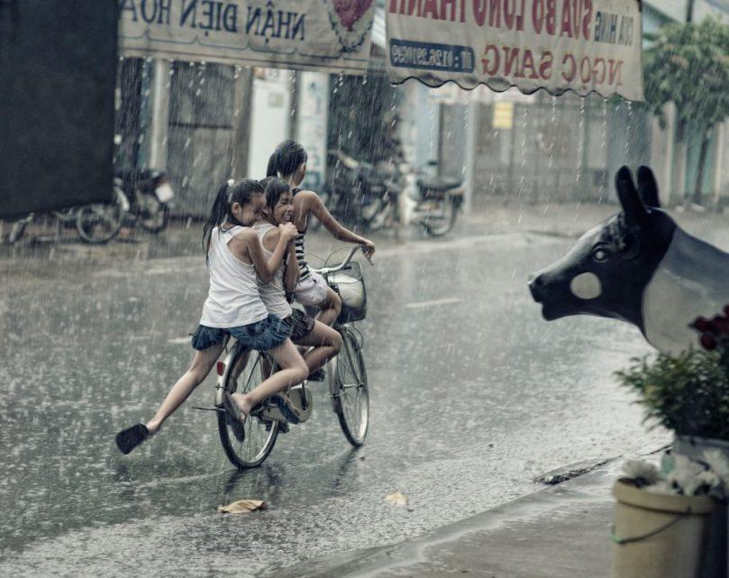rain children