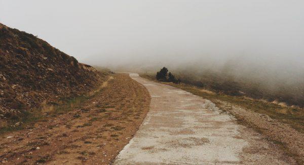zen - diamond on a muddy road