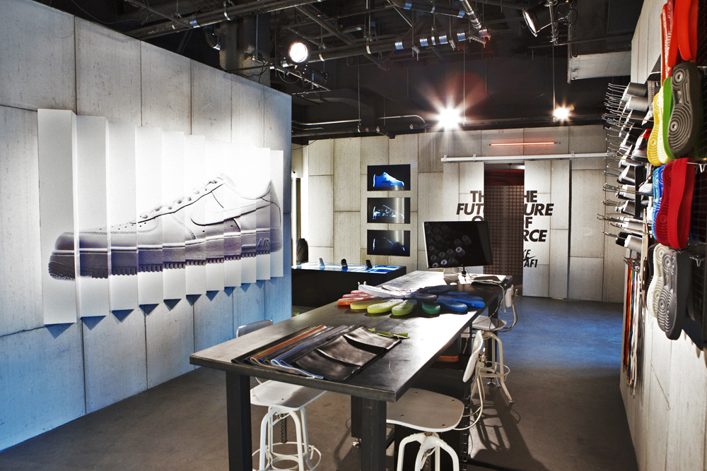 Nikes Coolest PopUp Shops and Retail Environments  BeCore