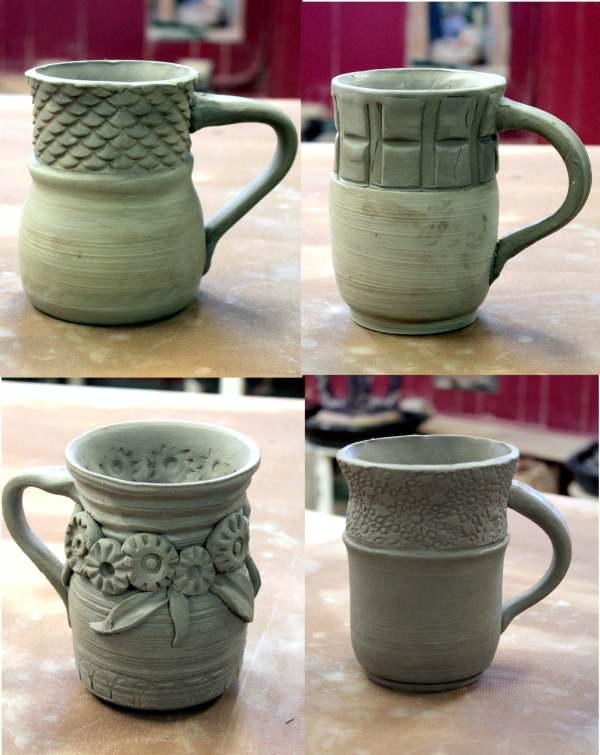 Creative Clay Slab Mugs