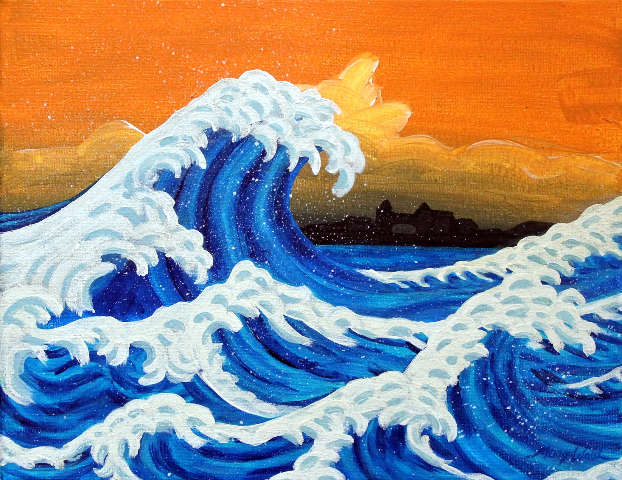 making waves be creative