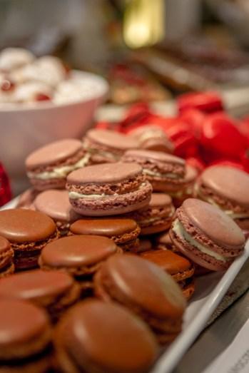 Chocolate, Choc Cherry and Salted Caramel Macron from my Macron Class