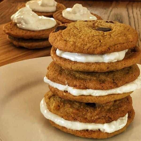 Marshmallow filled choc chip cookies   becs-table.com.au