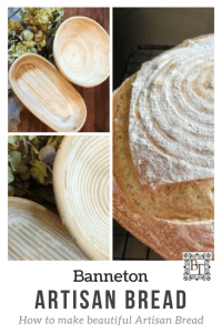 How to make artisan bread with a banneton