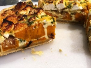 Image of a pumpkin tart from our eBook