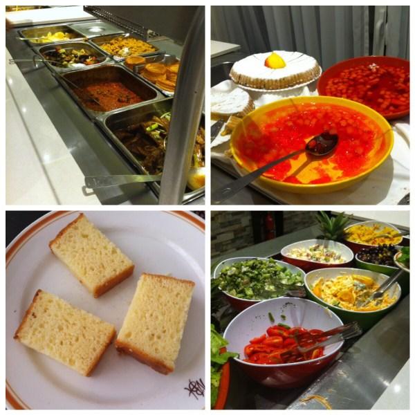 Food at Melleiha Bay Hotel
