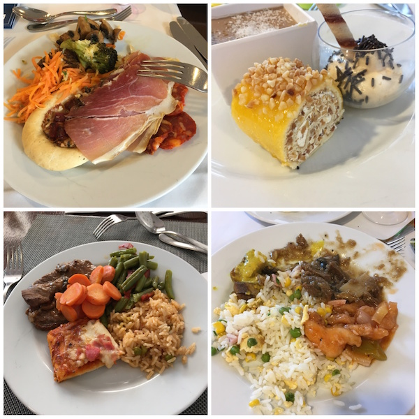 Food at the Lanzarote Princee\ss