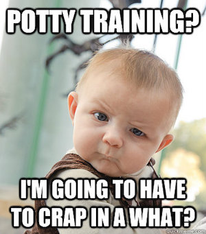 Potty Training Meme