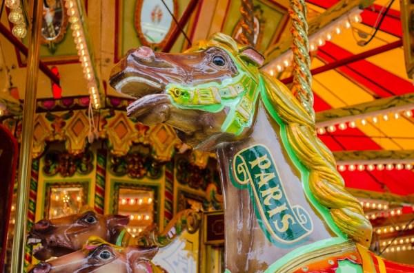 Secret Scary Carousel Horse