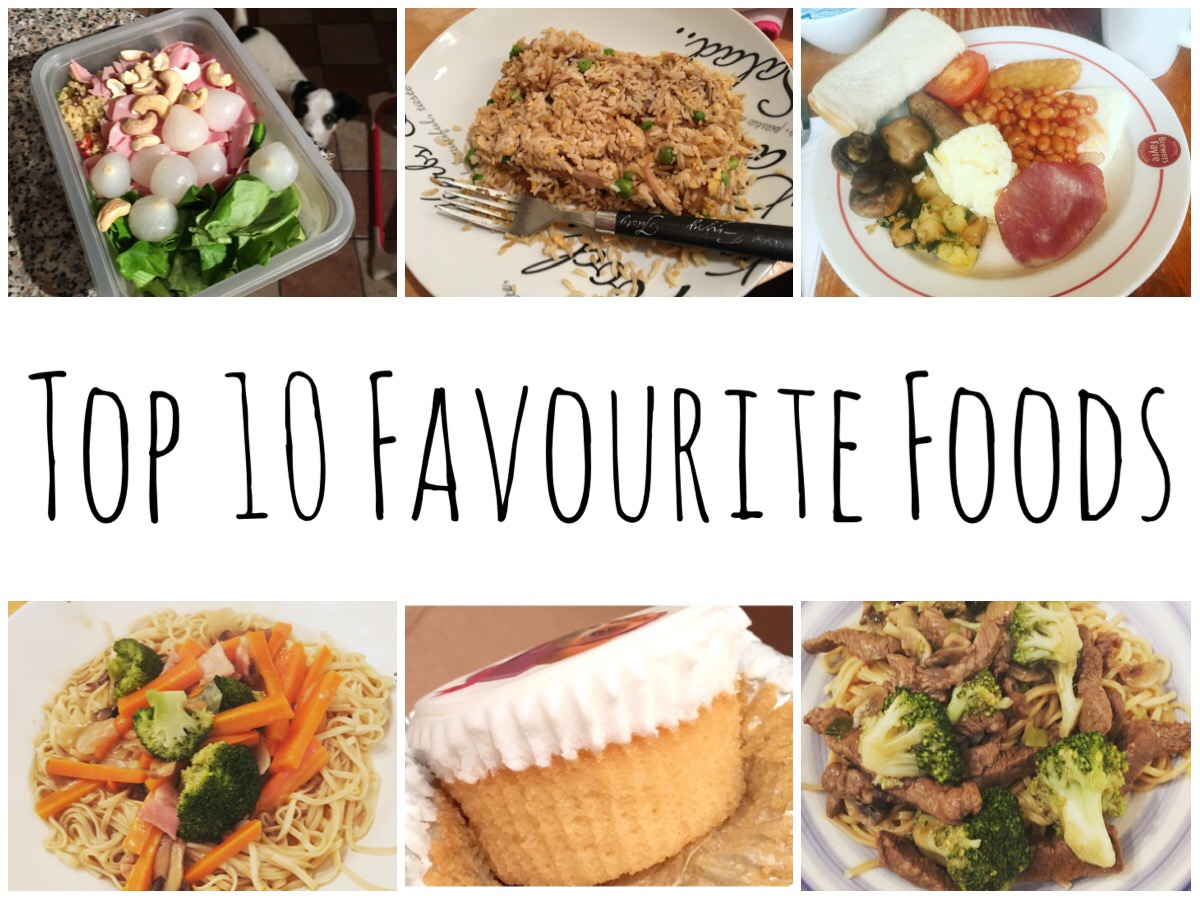 Top 10 Favourite Foods