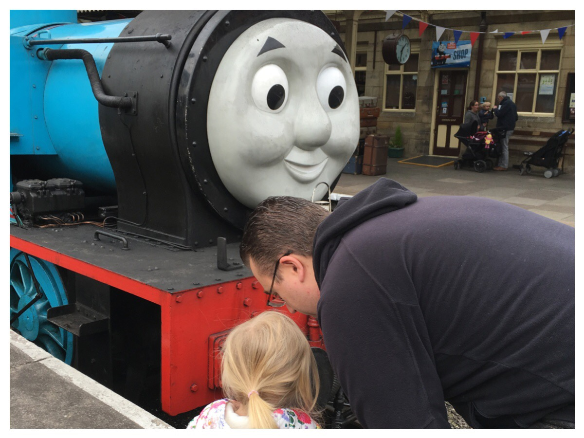 Meeting Thomas at Llangollen Railway