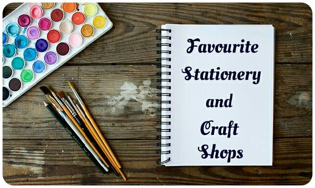 Favourite Stationery Shops