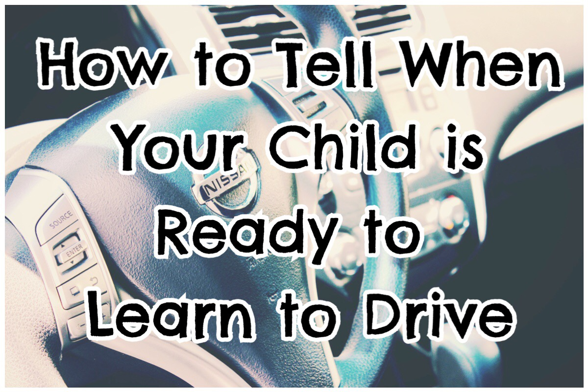 Ho to tell when your child is ready to learn to drive