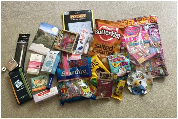 Blog On MSI 2017 - Goody bag