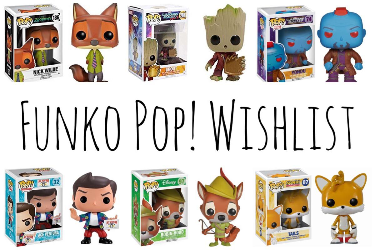 Funko Pop Wishlist
