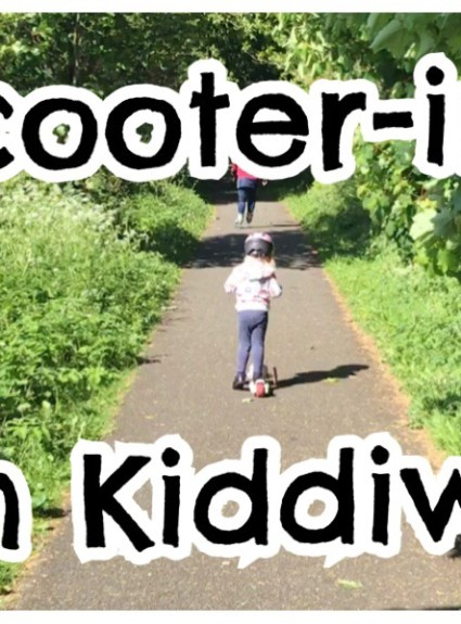 Scooter-ing With Kiddiwinks