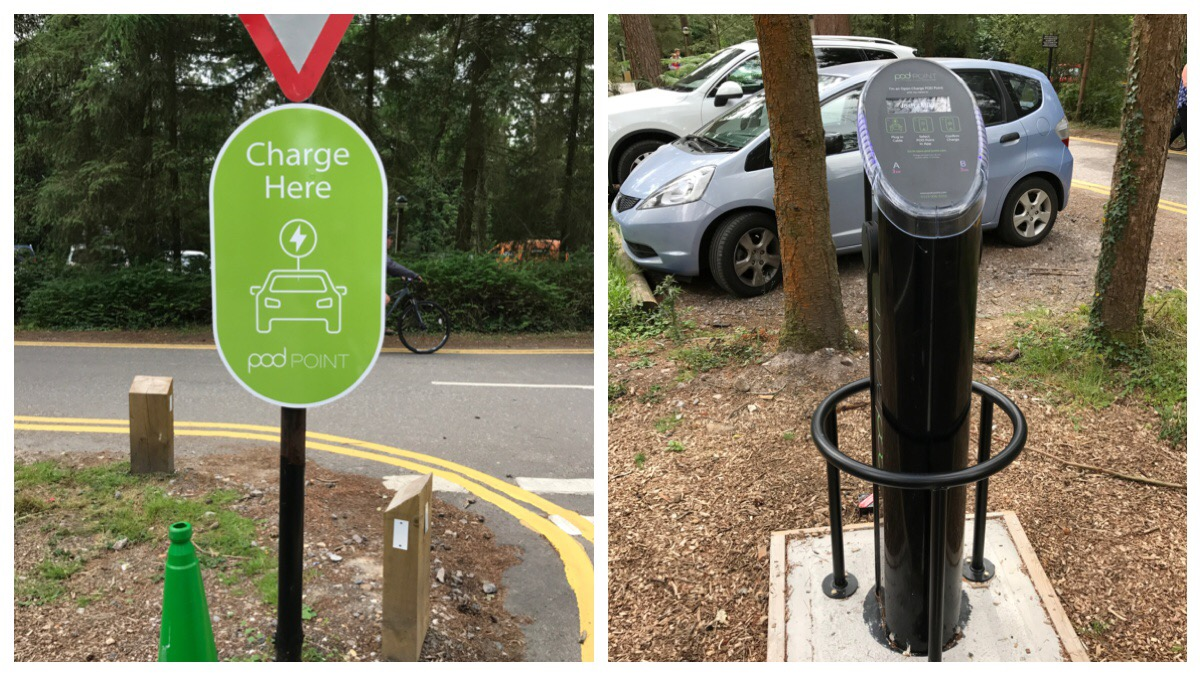 Car Park Charging Point
